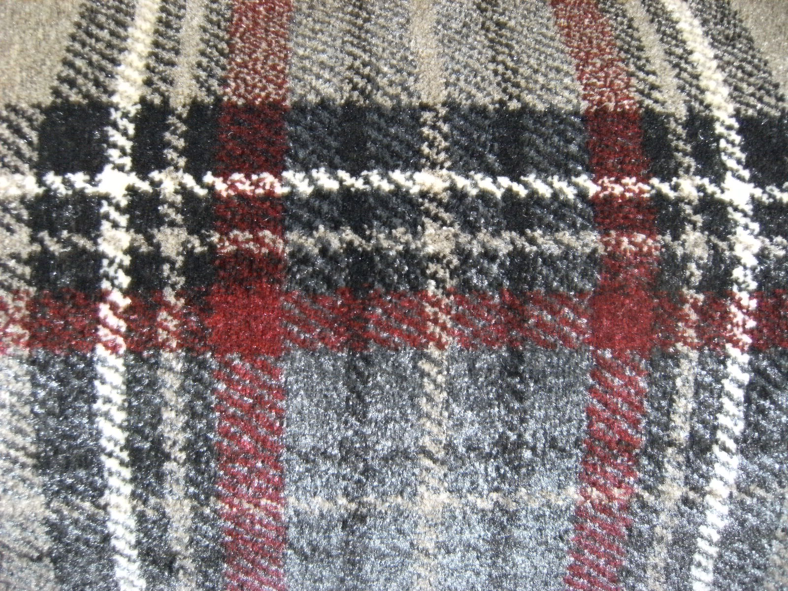 >Torridon Plaid Tartan Grey/Red