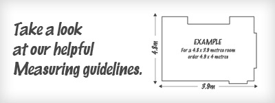 Helpful measuring guidelines from Carpet King